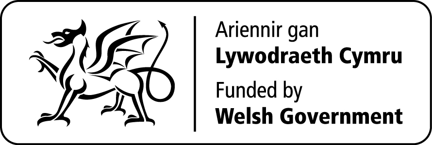 Funded by Welsh Government logo